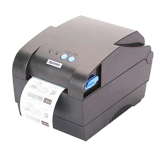 In thử để xác định mặt giấy in có mực