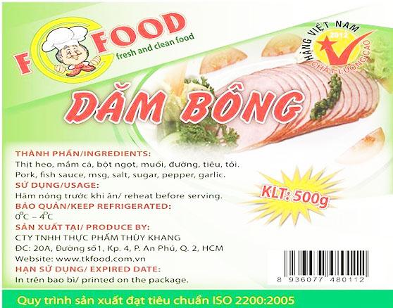 Tem nhãn thực phẩm phải có đầy đủ thông tin